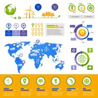 Energie Infographik Vorlage
