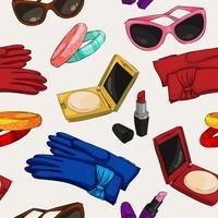 Sömnlösa kvinnor modeaccessoarer tapeter