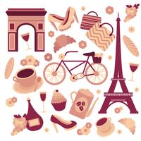 Paris-Symbolsammlung