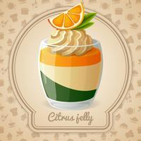 Citrus gelé kort