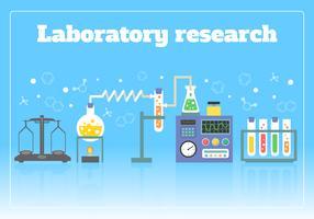 Laboratorieforskningskoncept