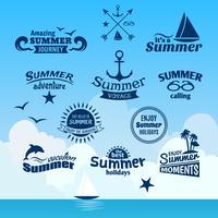 Sommer-Elementbezeichnung