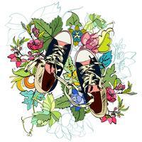 Gumshoes Skizzeblume