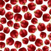 Granatapfel nahtlose Muster vektor