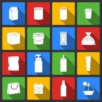 Pack Container-Symbole