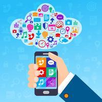 Mobiltjänster moln
