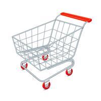 Einkaufswagen-Konzept vektor