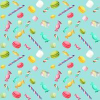 Candy sömlöst mönster