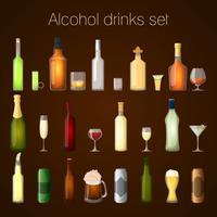 Alkoholdrycker set