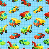Transport leksak sömlöst mönster