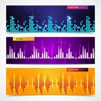Audio-Equalizer-Banner eingestellt