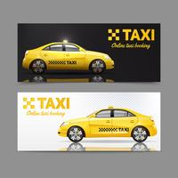 Taxi-Banner-Set