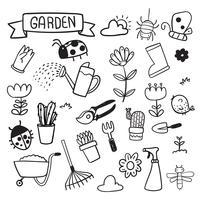 trädgård vektor