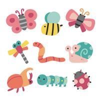 Tiere Charakter Design vektor
