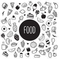 mat hälsosam design vektor