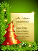 vektor julgran