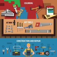 Tools Horizontales Banner-Set
