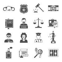 Gesetz-Symbol flach
