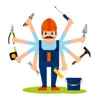 Begreppet handymanarbetare