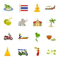Thailand Ikoner Set