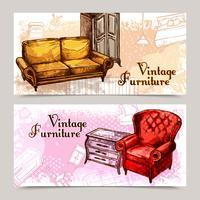 Möbel-Banner-Set
