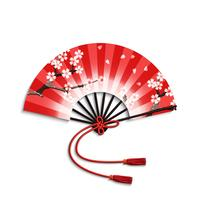 Japansk Folding Fan vektor