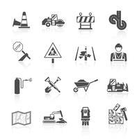 Straßenarbeiter-Symbol