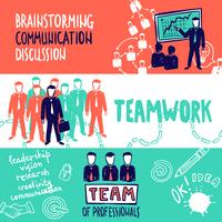 Teamwork-Banner-Skizze