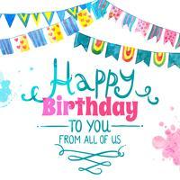 Alles Gute zum Geburtstagskarte
