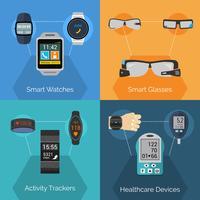 Wearable-Technologie-Set