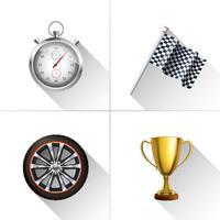 Racing ikoner Set