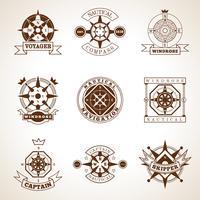 Kompass-Label-Set