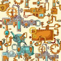 Industrielle Maschinen nahtlos