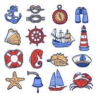 Nautische Icon Set