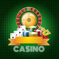 Casino bakgrund affischtryck vektor