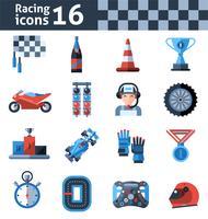 Renn-Icons gesetzt