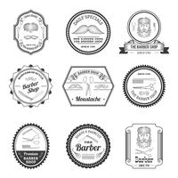 Barber Shop Embleme vektor