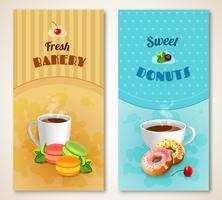 Bäckerei-Banner-Set