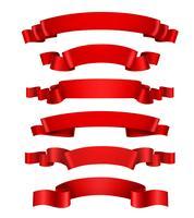 Realistiska röda band