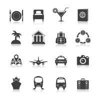 Travel icon set vektor