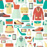 Shopping sömlöst mönster vektor