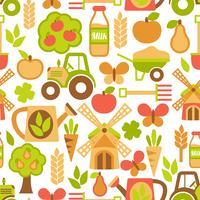 Jordbruk sömlöst mönster