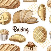 Baking sömlöst mönster