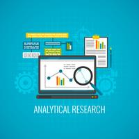 Data och analytisk forskning ikon