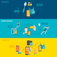 digitale Gesundheitsbanner