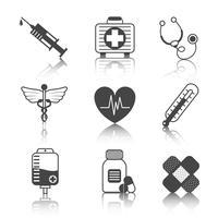 Medizin-Icons Set