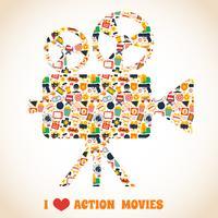 Actionfilmkamera