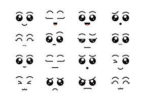 Comic-Augen vektor