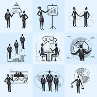 Skizzieren Sie Geschäft Zusammensetzung