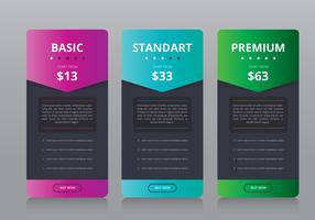 Preisliste Collection Business Template